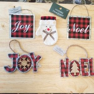 5 Christmas Ornaments